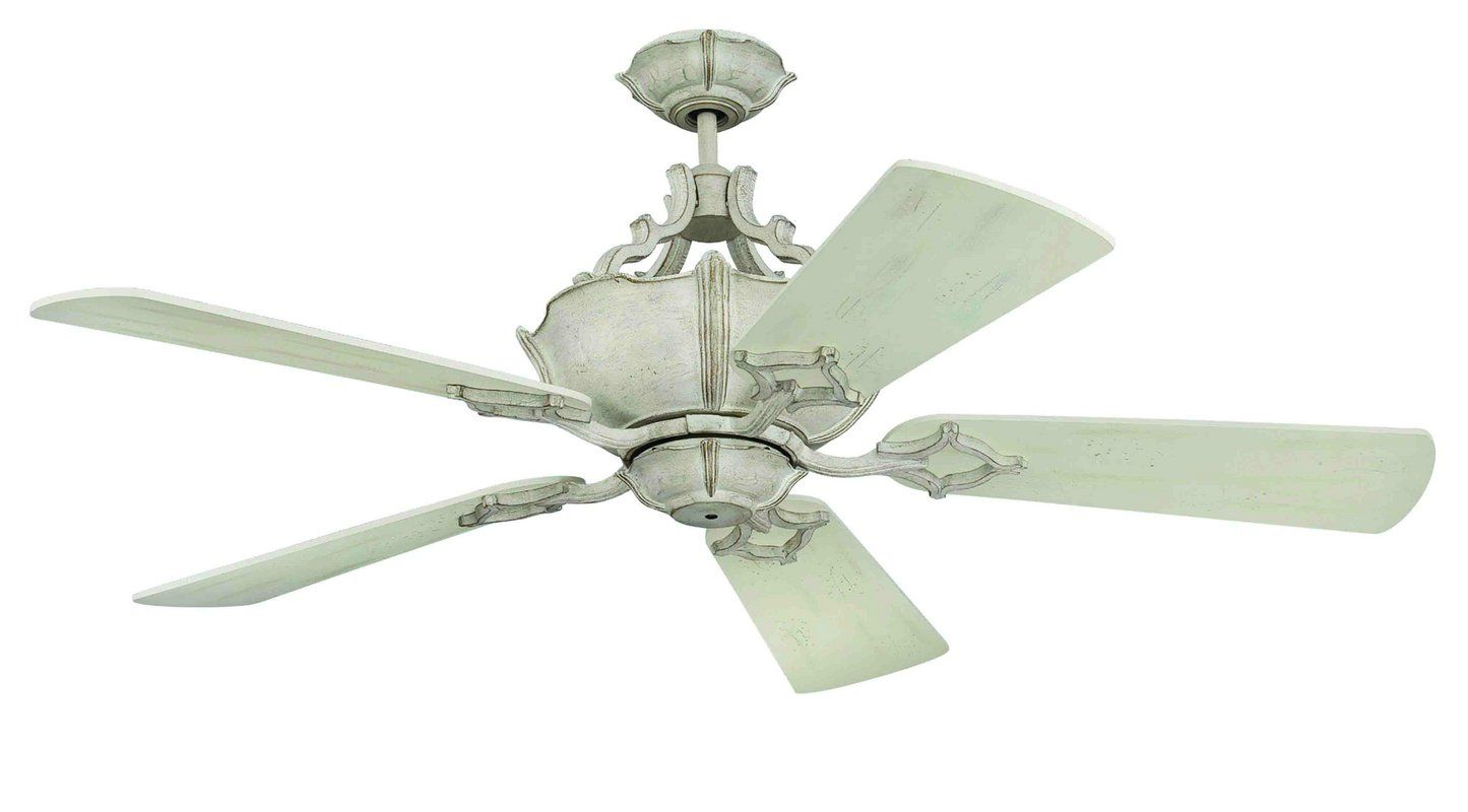 "Craftmade WXL52 52"" 5 Blade Indoor Ceiling Fan - Remote Included"