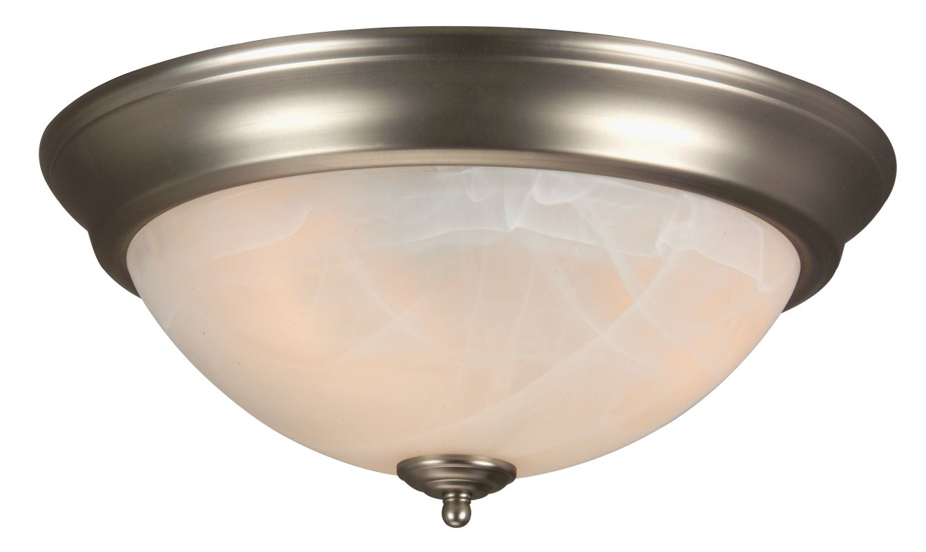 Craftmade X215 3 Light Flush Mount Ceiling Fixture Brushed Nickel