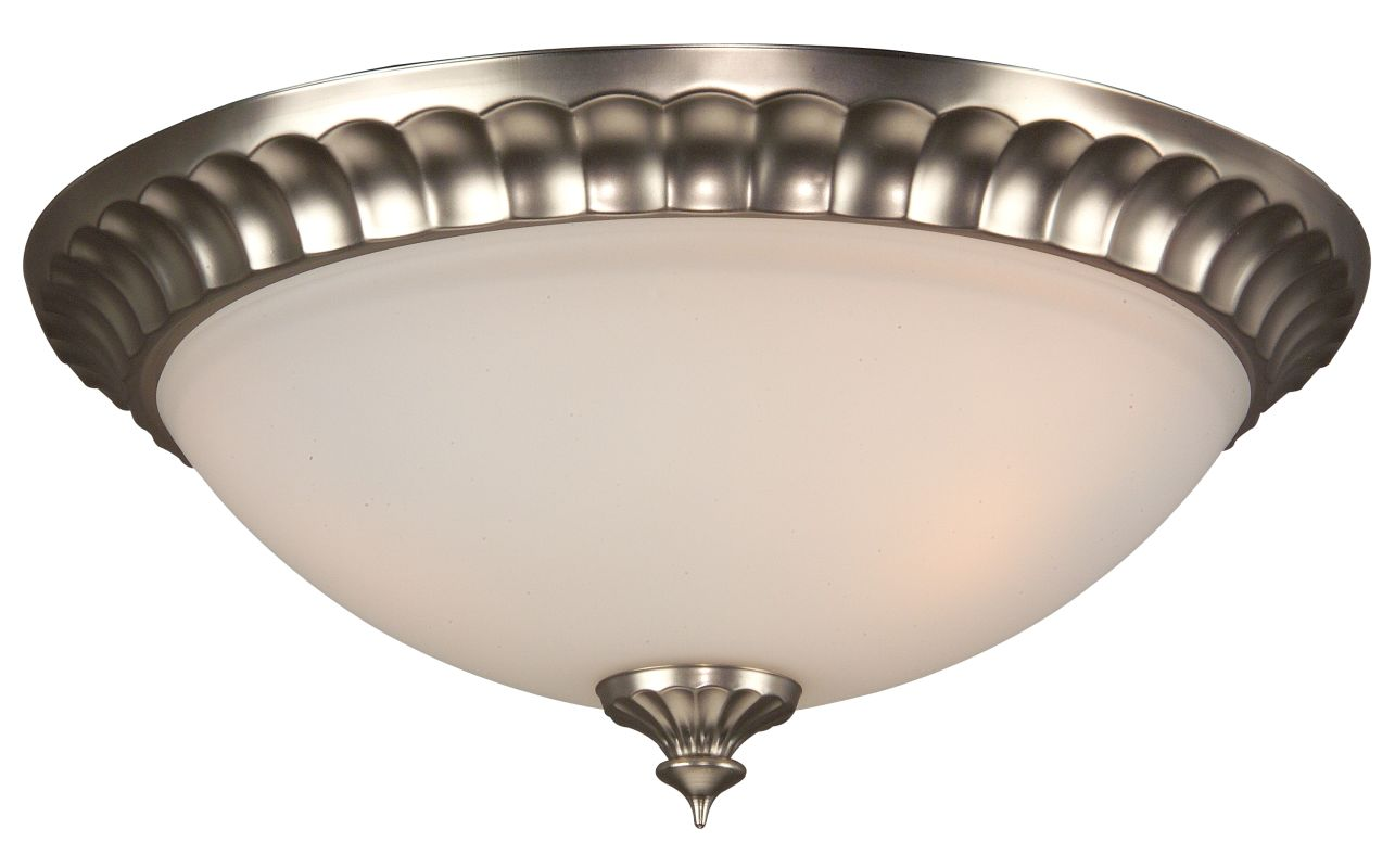 Craftmade X316 Premier 3 Light Flush Mount Ceiling Fixture Brushed Sale $55.00 ITEM: bci687629 ID#:X316-BN UPC: 647881067113 :