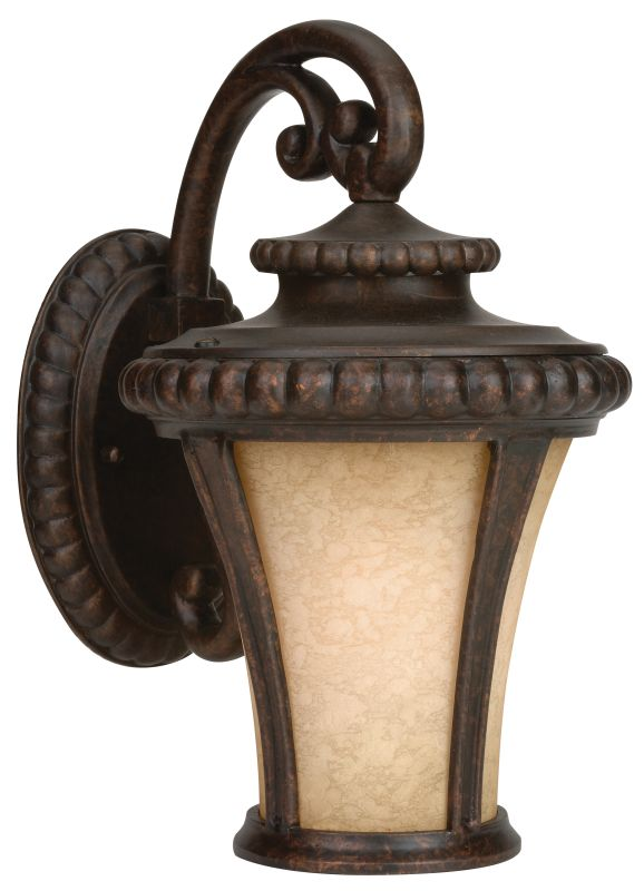 Craftmade Z1204 Prescott 1 Light Outdoor Wall Sconce - 8 Inches Wide