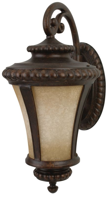 Craftmade Z1224 Prescott 1 Light Outdoor Wall Sconce - 12 Inches Wide