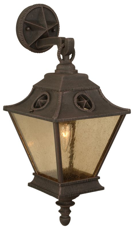 Craftmade Z1404 Chaparral 1 Light Outdoor Wall Sconce - 8 Inches Wide