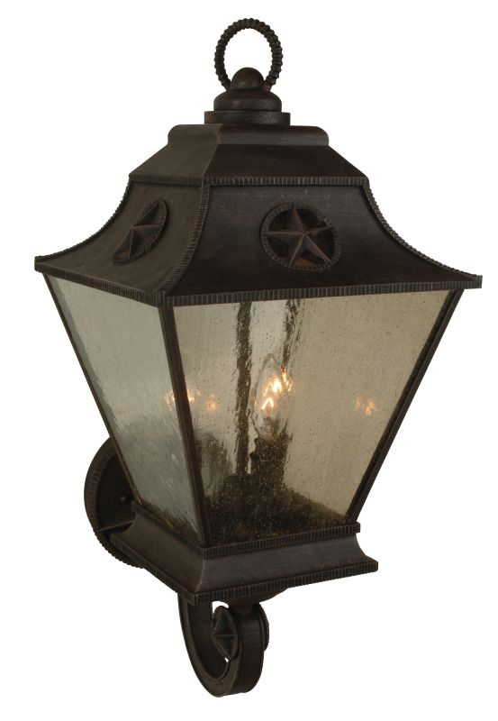 Craftmade Z1410 Chaparral 3 Light Outdoor Wall Sconce - 11.5 Inches