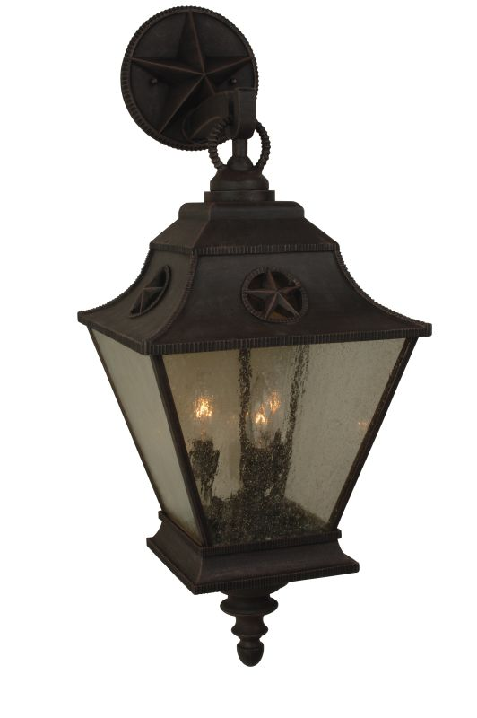 Craftmade Z1414 Chaparral 3 Light Outdoor Wall Sconce - 11.5 Inches