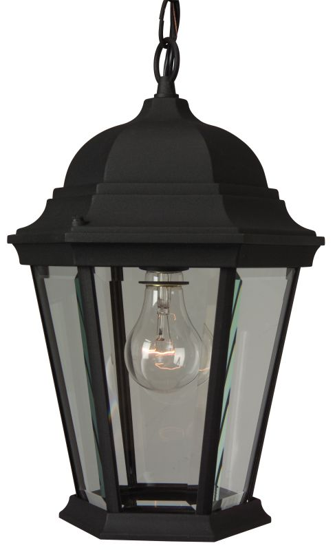 Craftmade Z251 Straight Glass 1 Light Lantern Outdoor Pendant - 9.5