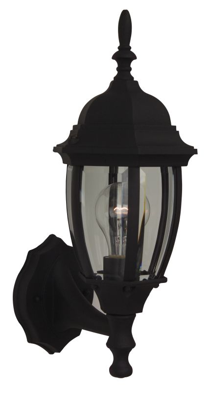 Craftmade Z260 Bent Glass 1 Light Outdoor Wall Sconce - 6.5 Inches