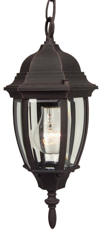Craftmade Z261 Bent Glass 1 Light Outdoor Pendant - 6.5 Inches Wide
