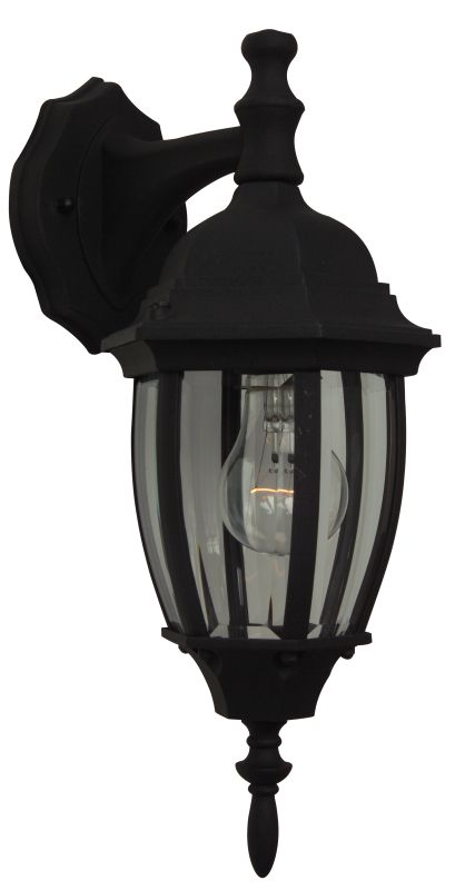 Craftmade Z264 Bent Glass 1 Light Outdoor Wall Sconce - 6.5 Inches