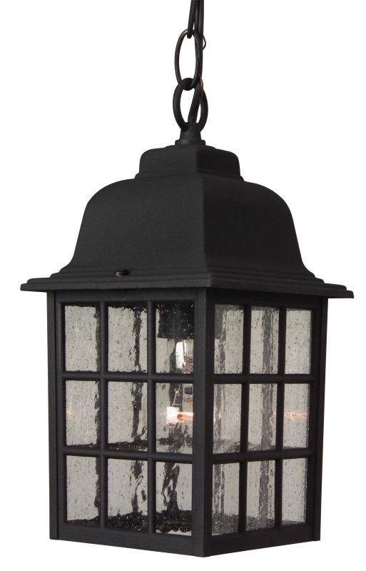 Craftmade Z271 Grid Cage 1 Light Rectangular Outdoor Pendant - 6
