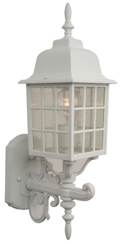 Craftmade Z274 Grid Cage 1 Light Outdoor Wall Sconce - 6 Inches Wide