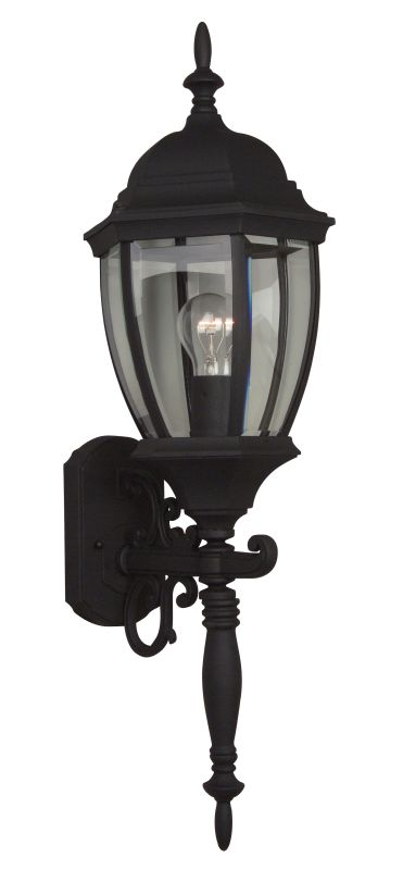 Craftmade Z280 Bent Glass 1 Light Outdoor Wall Sconce - 9.5 Inches