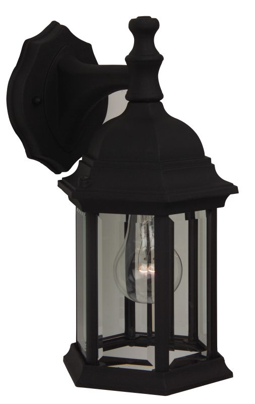 Craftmade Z294 Hex 1 Light Outdoor Wall Sconce - 6 Inches Wide Matte