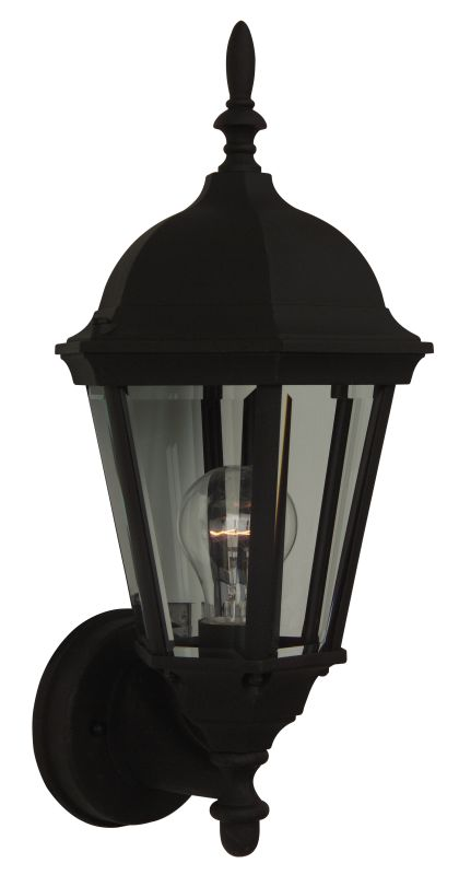 Craftmade Z316 Straight Glass 1 Light Outdoor Wall Sconce - 7.75 Sale $40.00 ITEM: bci687775 ID#:Z316-05 UPC: 647881019235 :