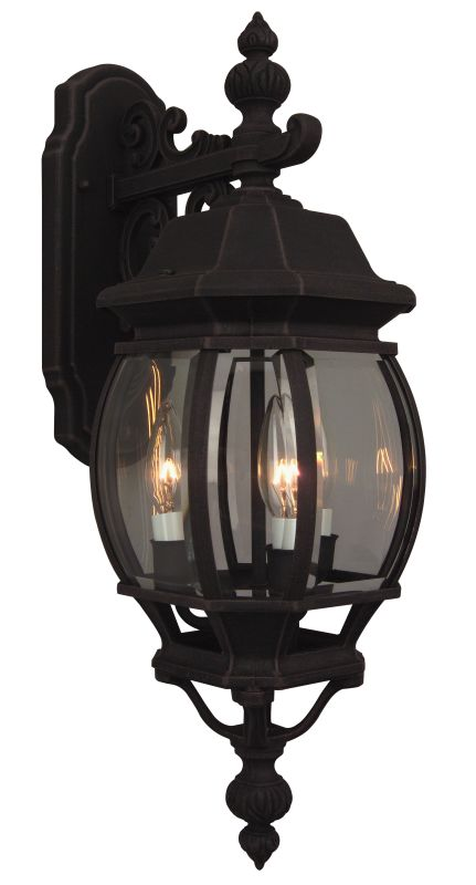 Craftmade Z334 French Style 3 Light Outdoor Wall Sconce - 8 Inches
