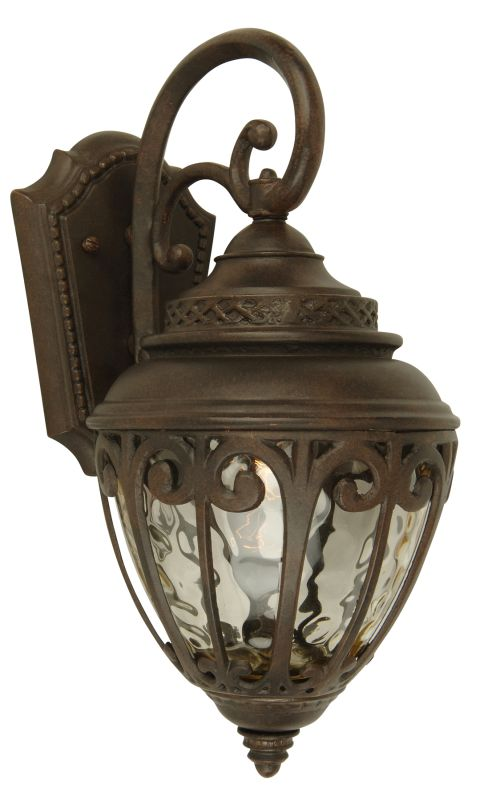 Craftmade Z3814 Olivier 3 Light Outdoor Wall Sconce - 10 Inches Wide