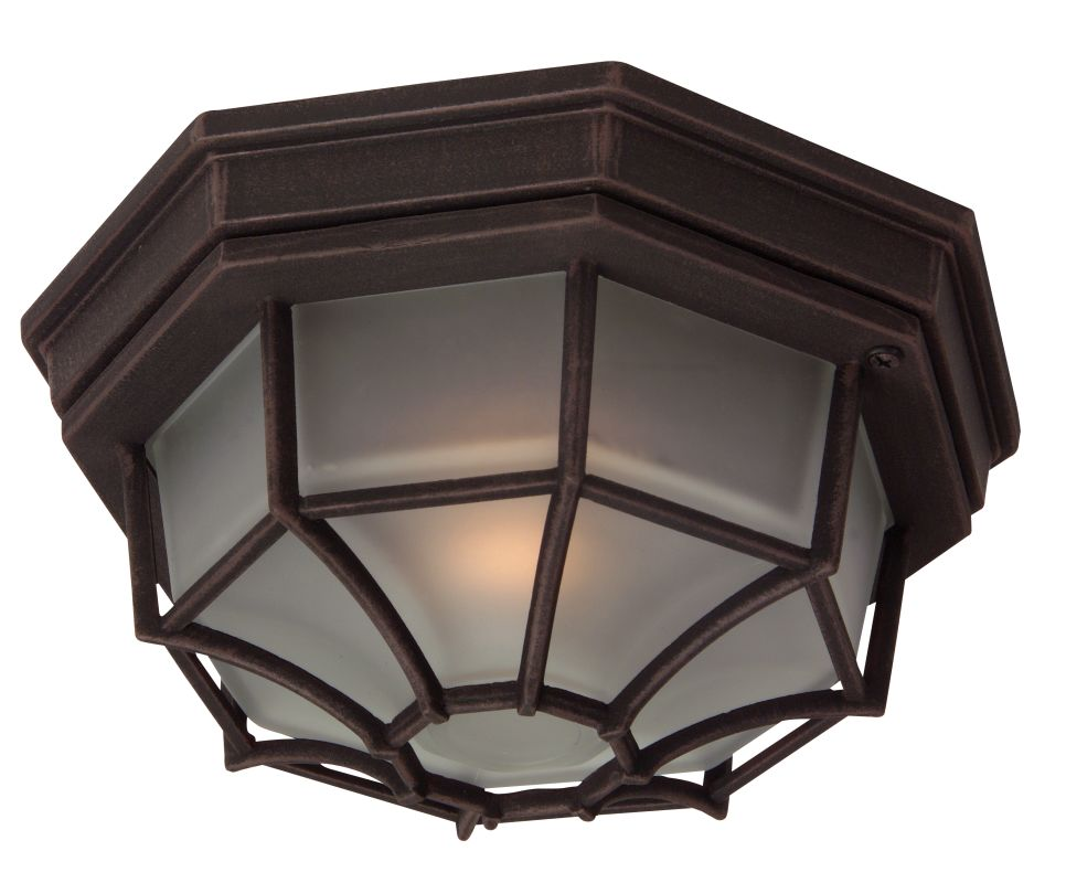Craftmade Z389 Bulkheads 1 Light Outdoor Ceiling Fixture Rust Outdoor