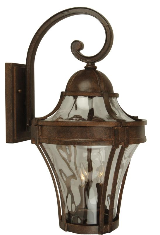 Craftmade Z4204 Parish 1 Light Outdoor Wall Sconce - 7 Inches Wide