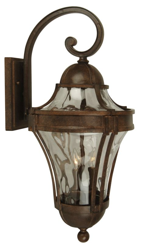 Craftmade Z4214 Parish 2 Light Outdoor Wall Sconce - 9 Inches Wide