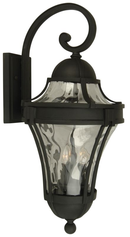Craftmade Z4224 Parish 3 Light Outdoor Wall Sconce - 11 Inches Wide