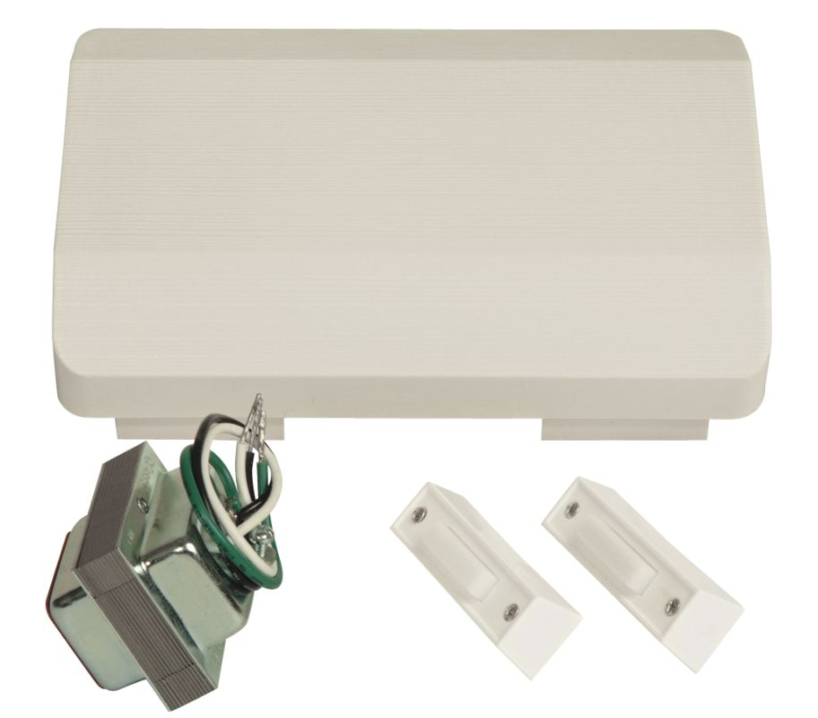 Craftmade C105L Builder ADA Compliant Door Chime Kit - Single Chime