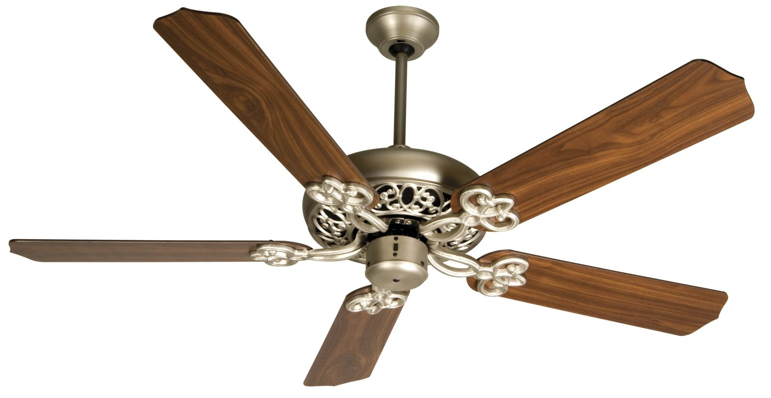 "Craftmade Cecilia 52"" 5 Blade Energy Star Indoor Ceiling Fan Brushed"