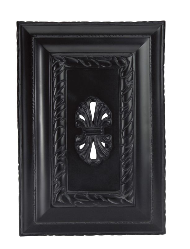 "Craftmade CH1201W Wireless 9.63"" Wide Hand-Carved Door Chime with Push"
