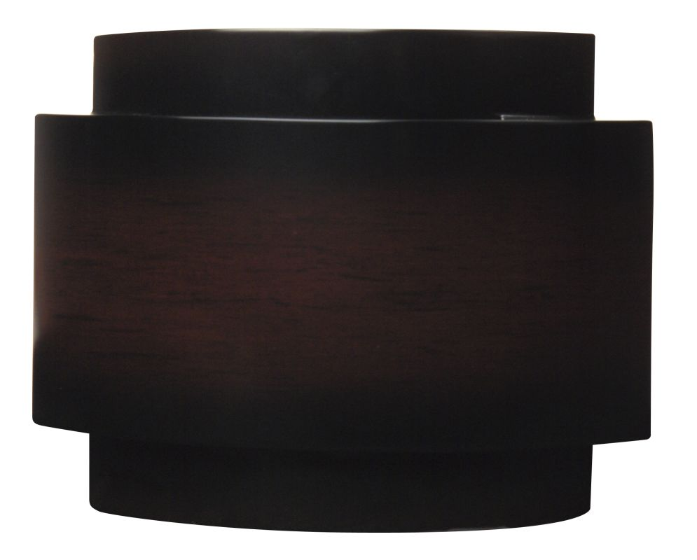 "Craftmade CH1902 Contemporary 10.75"" Wide Curved Door Chime Dark"