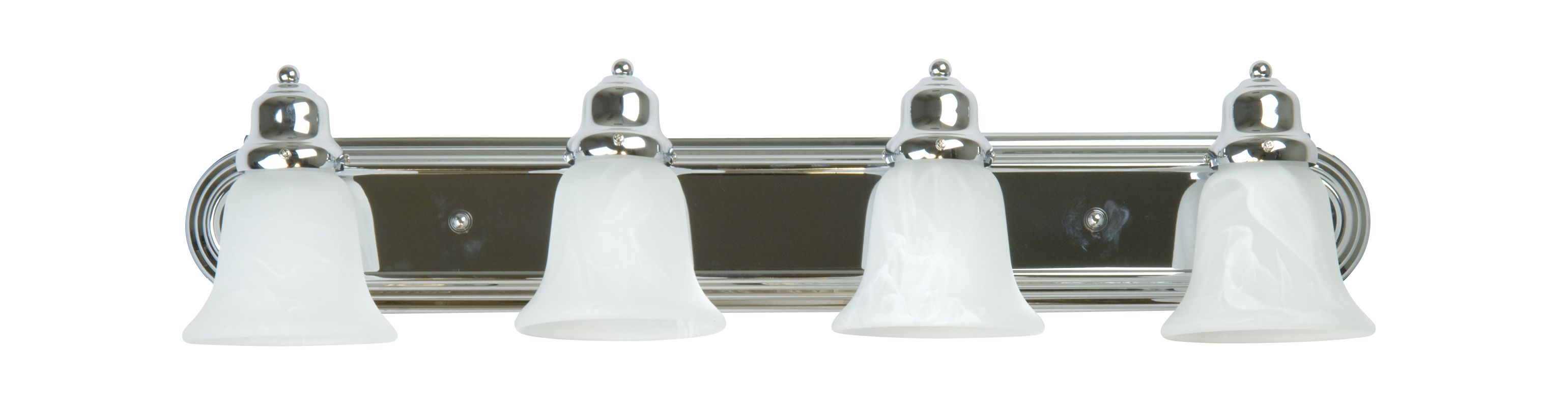 "Craftmade 11730-KIT Racetrack 30"" Wide 4 Light Bathroom Vanity Light"