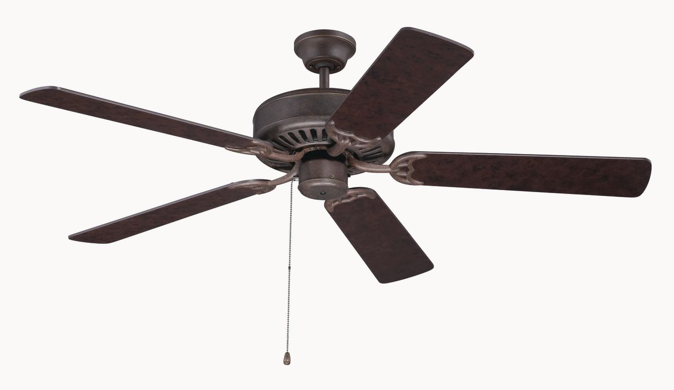 "Craftmade C52 Pro Builder 52"" 5 Blade Indoor Ceiling Fan Aged Bronze Sale $81.00 ITEM: bci2380588 ID#:C52AG UPC: 647881119263 :"