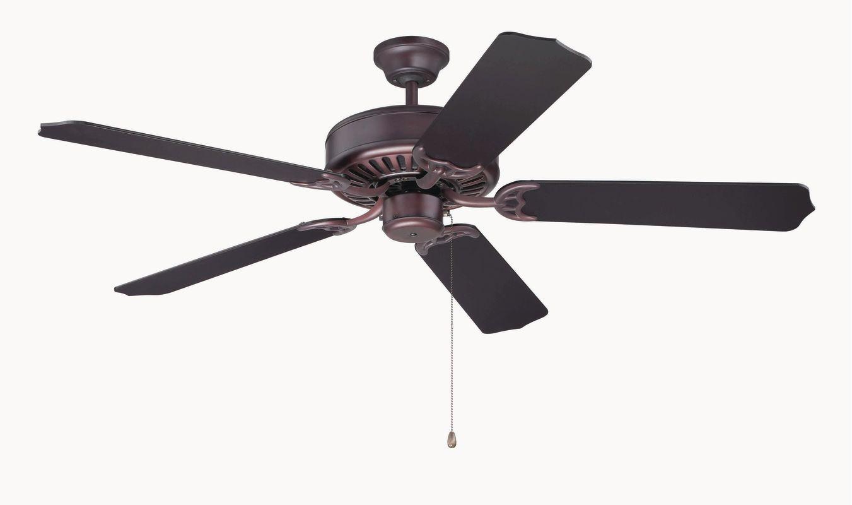 """Craftmade C52 Pro Builder 52"""" 5 Blade Indoor Ceiling Fan Oiled Bronze"""