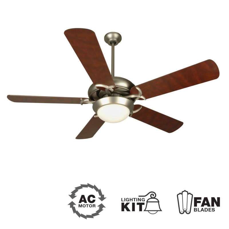 "Craftmade Civic Unipack Modern 52"" 5 Blade Indoor Ceiling Fan - Blades"