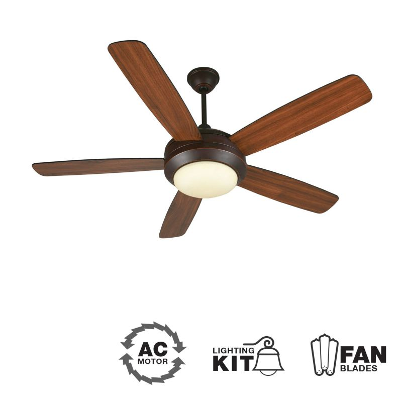 Craftmade HE52 Helios 52&quote 5 Blade Indoor Ceiling Fan - Blades and