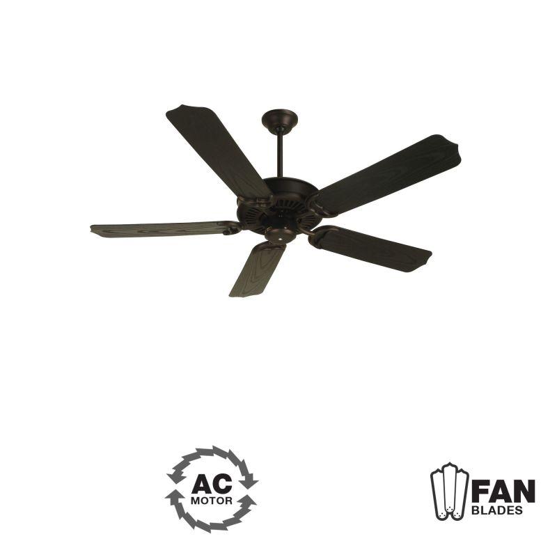 "Craftmade K10173 Porch Fan 52"" 5 Blade Indoor Ceiling Fan - Blades"