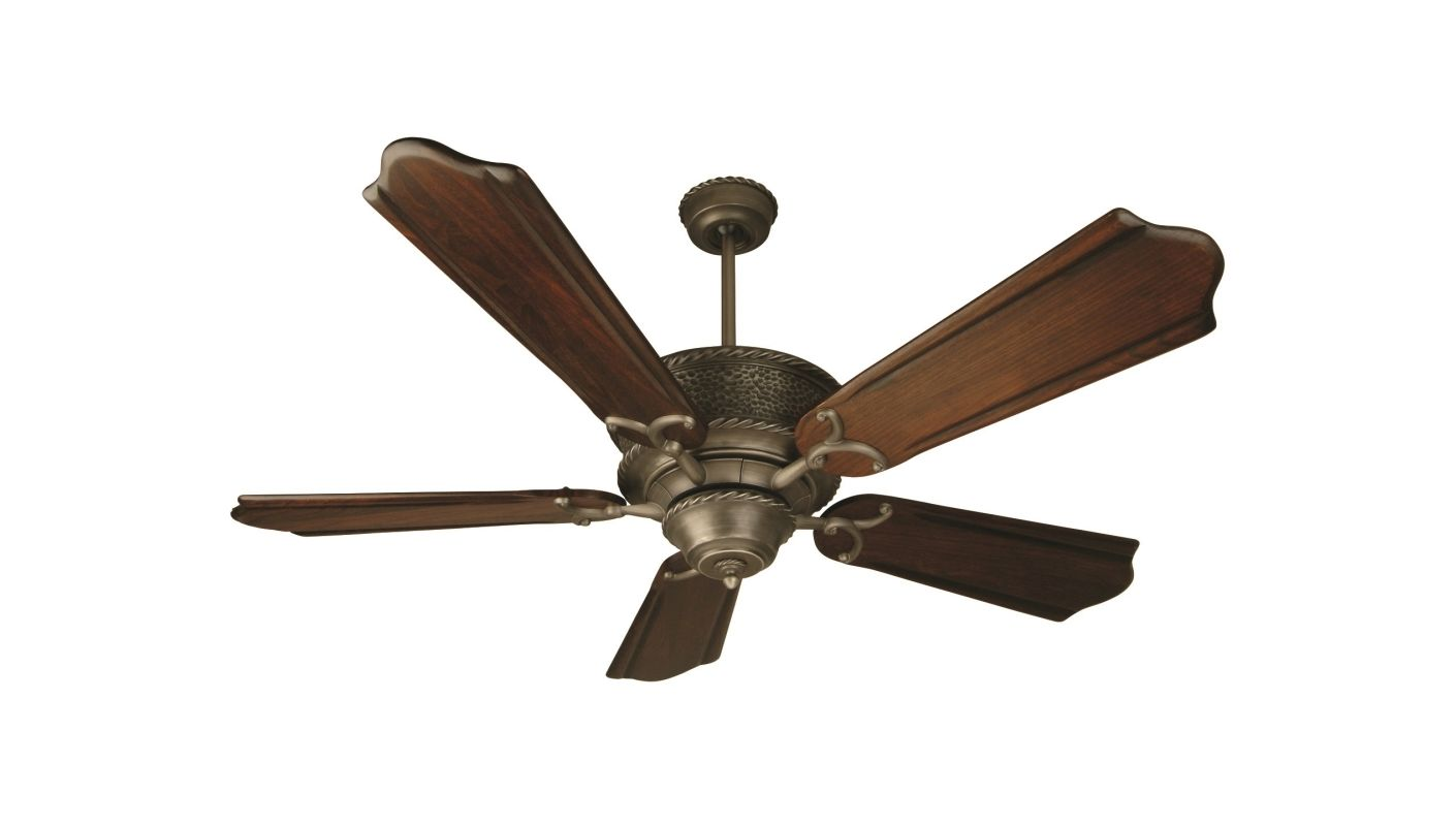 """Craftmade K10182 Riata 56"""" 5 Blade Indoor Ceiling Fan with Blades"""