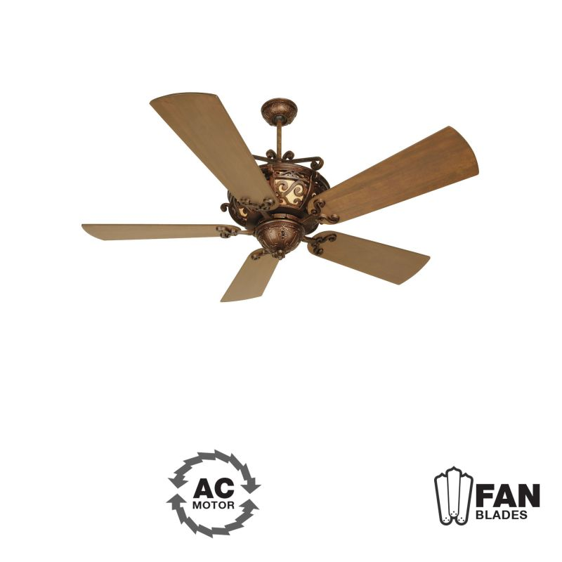 "Craftmade K10260 Toscana 54"" 5 Blade Indoor Ceiling Fan - Blades"