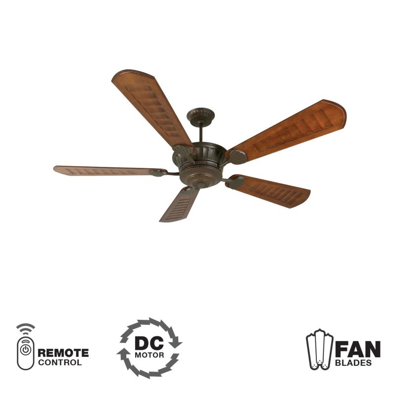 "Craftmade K10309 DC Epic 70"" 5 Blade DC Indoor Ceiling Fan - Blades"
