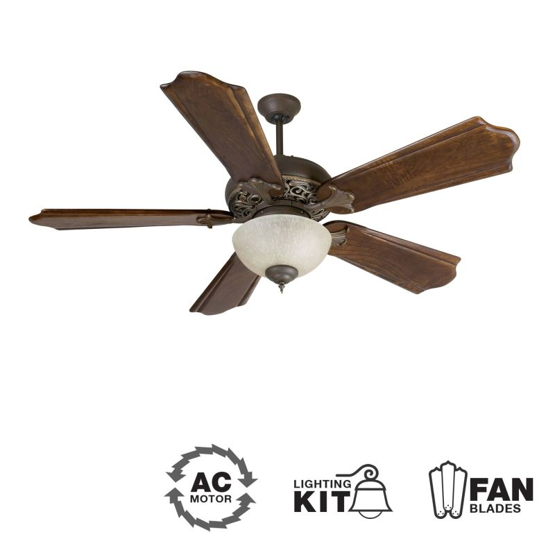 "Craftmade K10323 Mia 56"" 5 Blade Indoor Ceiling Fan - Blades and Light Sale $334.00 ITEM: bci1943418 ID#:K10323 :"