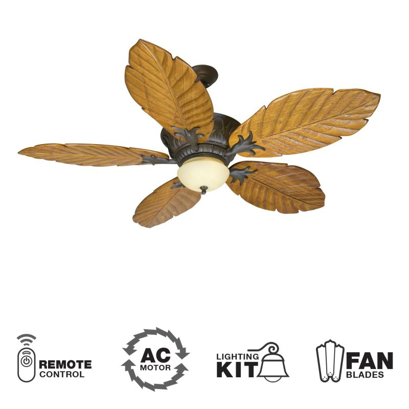 "Craftmade K10344 Pavilion 56"" 5 Blade Indoor Ceiling Fan - Blades"