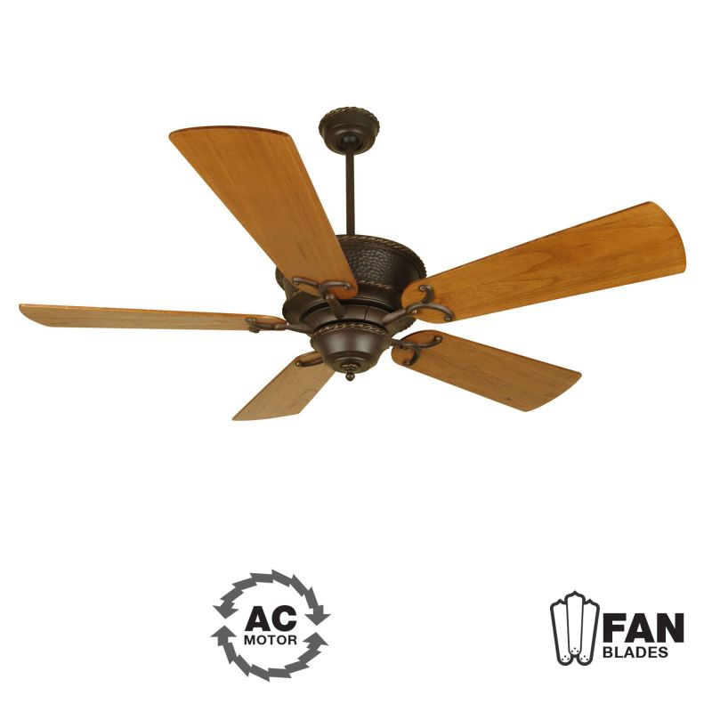 "Craftmade K10349 Riata 54"" 5 Blade Indoor Ceiling Fan - Blades"