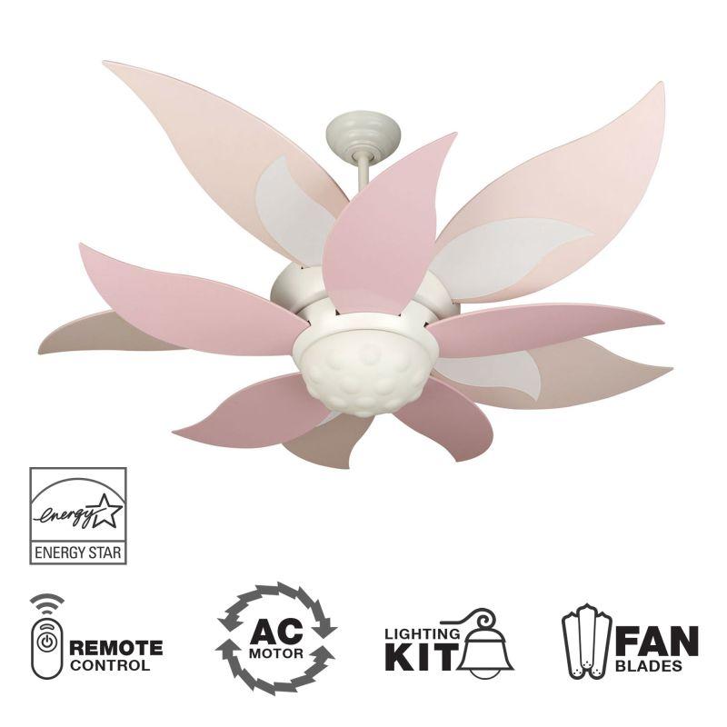 """Craftmade K10368 Bloom 52"""" 10 Blade Energy Star Indoor Ceiling Fan -"""