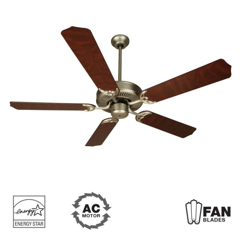 """Craftmade K10436 Contractor´s Design 52"""" 5 Blade Energy Star Indoor"""