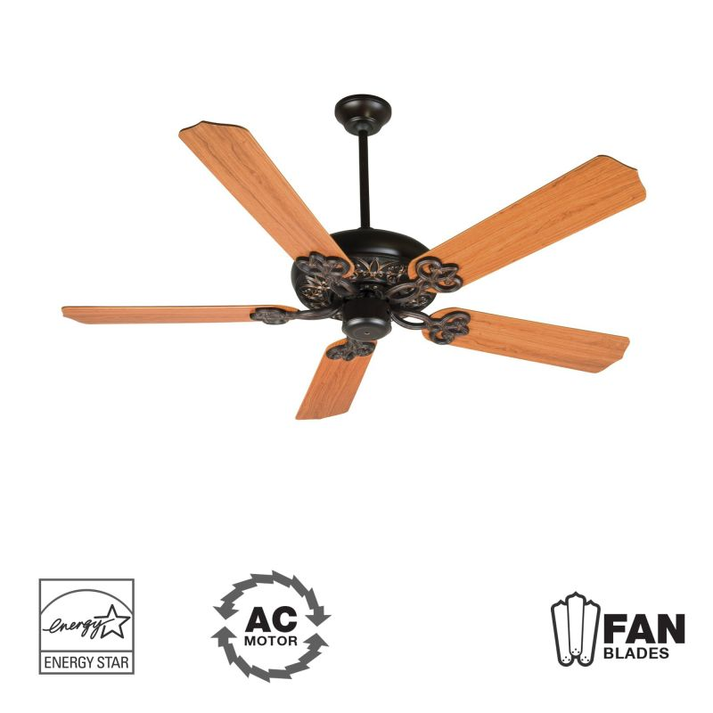 "Craftmade K10437 Cecilia 52"" 5 Blade Energy Star Indoor Ceiling Fan -"