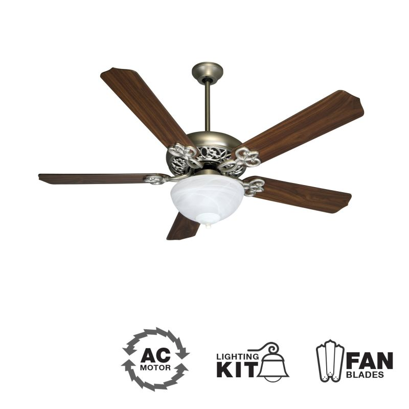 "Craftmade K10438 Cecilia Unipack 52"" 5 Blade Indoor Ceiling Fan -"