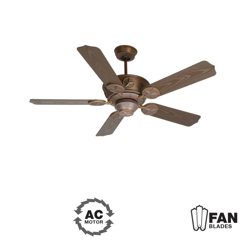 "Craftmade K10512 Chaparral 52"" 5 Blade Indoor Ceiling Fan - Blades"
