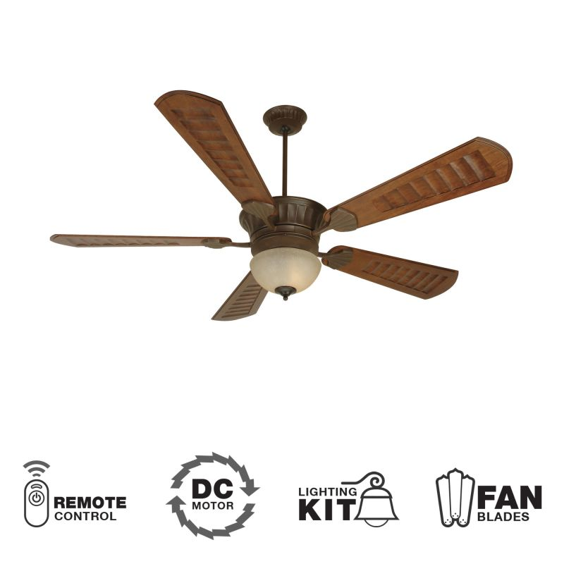 "Craftmade K10515 DC Epic 70"" 5 Blade DC Indoor Ceiling Fan - Blades"