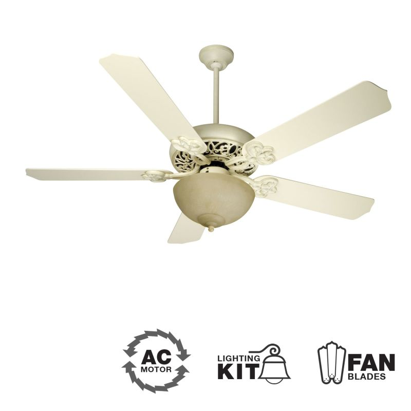 "Craftmade K10618 Cecilia Unipack 52"" 5 Blade Indoor Ceiling Fan -"