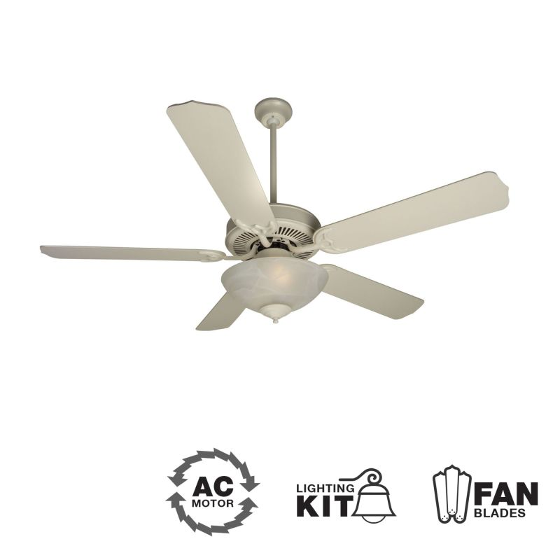 "Craftmade K10622 CD Unipack 201 52"" 5 Blade Indoor Ceiling Fan -"