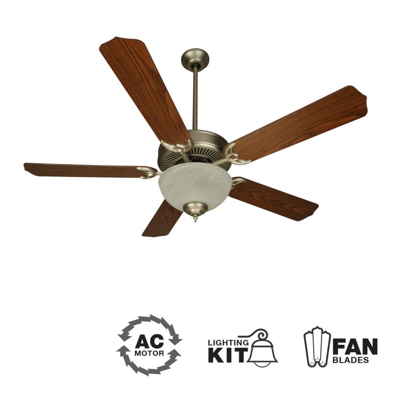 "Craftmade K10623 CD Unipack 201 52"" 5 Blade Indoor Ceiling Fan -"