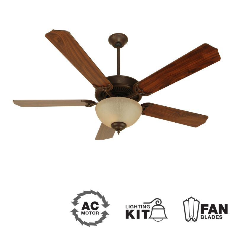 "Craftmade K10626 CD Unipack 202 52"" 5 Blade Indoor Ceiling Fan -"