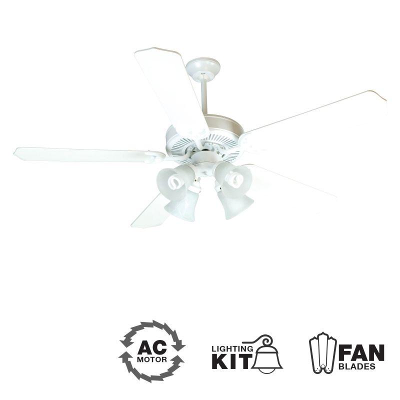 "Craftmade K10632 CD Unipack 203 52"" 5 Blade Indoor Ceiling Fan -"